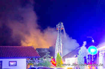 Dachstuhlbrand in Wiernsheim Pinache: Haus unbewohnbar - die neue welle