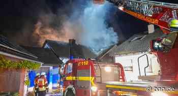 Dachstuhl in Flammen: Mehrfamilienhaus in Wiernsheim-Pinache brennt - BNN - Badische Neueste Nachrichten