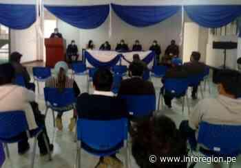 Huánuco: Coordinan implementación de campos deportivos con grass sintético en Llata - INFOREGION