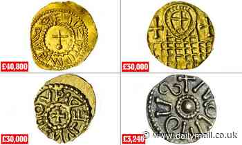 Anglo-Saxon coin collector's unparalleled treasure trove of 576 items sells for £856,000