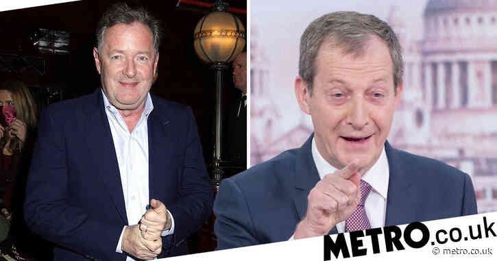 Piers Morgan roasts Alastair Campbell after he accidentally announced the Queen's death on Good Morning Britain