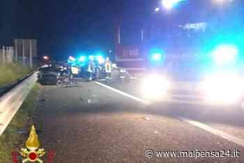 Sesto, maxi scontro in A26: autostrada chiusa per 3 ore. Due feriti gravi - MALPENSA24 - malpensa24.it