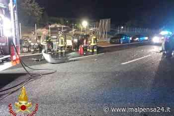 Incubo autostrada: schianto tra cinque auto tra Sesto e Besnate. Traffico bloccato - MALPENSA24 - malpensa24.it