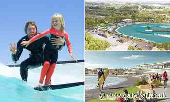 URBNSURF wave pool set to open at Sydney Olympic park during summer 2022-23
