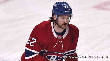 Canadiens' Jonathan Drouin not expected to return during playoffs - Yardbarker