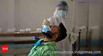 Coronavirus live updates: Delhi reports 6,456 fresh cases - Times of India