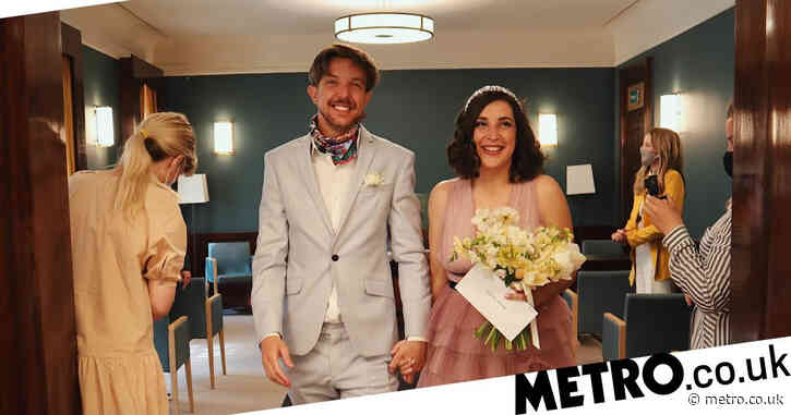 We chose to get married in lockdown –and the day was all the better for it