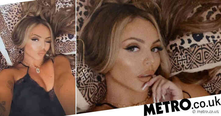 Jesy Nelson stuns in lingerie as she teases possible song lyrics ahead of solo launch after Little Mix