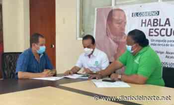 Alcalde de San Juan del Cesar se reunió con delegados de la Registraduría Nacional - Diario del Norte.net