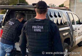PCPR prende suspeitos de homicídio qualificado nos Campos Gerais - Polícia Civil do Paraná