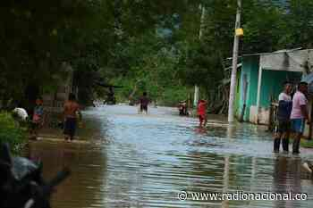 Aumento del río Cauca afecta a cerca de 100 familias en Achí, sur de Bolívar - http://www.radionacional.co/