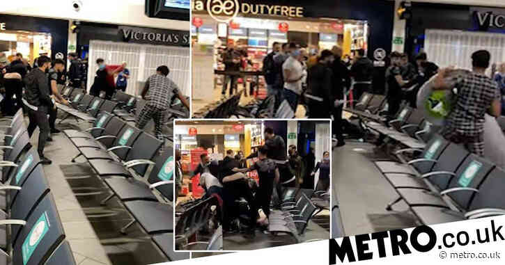 Luton Airport brawl sees three people seriously injured and 11 charged