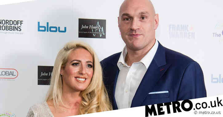 Tyson Fury praises pregnant wife Paris as his 'ride or die' after she takes off wedding ring