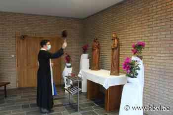 Eerste heilige met internetadres krijgt beeld in kerk van Zonhoven - Het Belang van Limburg