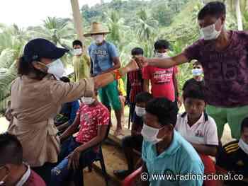 Consejera para DD.HH. verificó en campo situación de indígenas del Alto Baudó, Chocó - http://www.radionacional.co/
