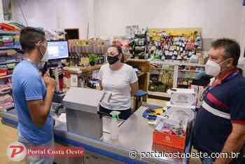 Fiscalização das medidas restritivas em Santa Terezinha de Itaipu conta com apoio da PM - Portal Costa Oeste