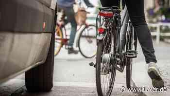 Neues Verkehrsschild soll Radfahren in Grevenbroich sicherer machen - WDR Nachrichten