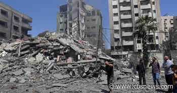 Israeli airstrikes kill 37 and topple buildings in Gaza City