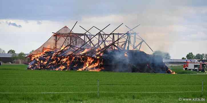 Rhein-Erft: Scheune in Erftstadt brennt komplett nieder – Jugendliche befragt - Kölner Stadt-Anzeiger