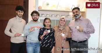 Einer syrischen Familie in Aldingen ist es eine Ehre, jetzt deutsche Staatsbürger zu sein - Schwäbische