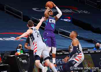 Hornets, Wizards Battling For the 8th Seed Today in DC