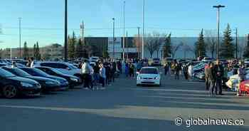 Large tailgate parties at Calgary's Deerfoot City - Global News