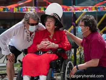 Calgary senior celebrates 100th birthday after pandemic devastates care home - Calgary Herald