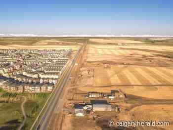 New community of Glacier Ridge breaks ground in northwest Calgary - Calgary Herald