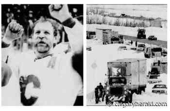 35 years ago: A May snowstorm paralyzes Calgary, as the Flames win their first shot at the Stanley Cup - Calgary Herald