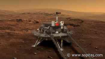 La nave espacial 'Tianwen-1', iza la bandera china en Marte - Sopitas.com