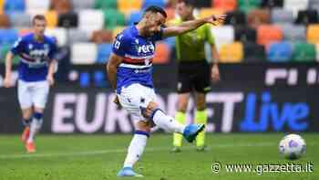 Serie A, Udinese-Sampdoria 0-1: rigore di Quagliarella