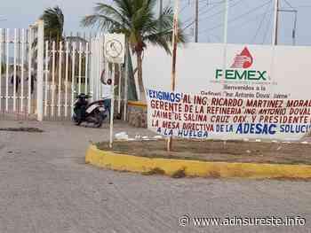 40 pipas varadas afuera de la refinería Antonio Dovalí Jaime en Salina Cruz; hay muchas pérdidas (22:53 h) - ADNl sureste