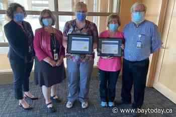 Two local nurses recognized with prestigious RN leadership award