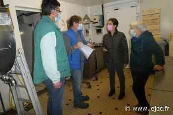 Perrine Goulet en visite à Port Aubry - Le Journal du Centre