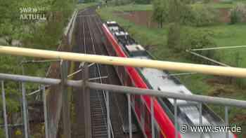 S-Bahn-Anwohner in Leinfelden-Echterdingen: Risse in Häusern und mehr Lärm - SWR