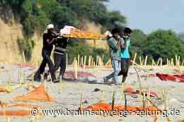Corona-Pandemie: Grauen in Indien: Der Ganges spült Tausende Covid-19-Tote an