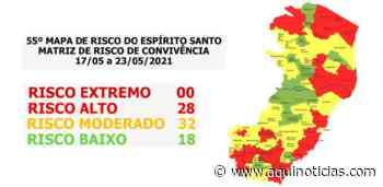 Cachoeiro de Itapemirim permanece no risco alto para Covid-19; veja os demais municípios - Aqui Notícias - www.aquinoticias.com
