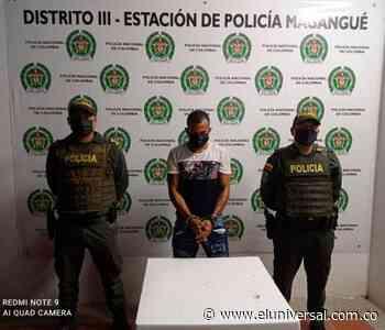Cayó presunto responsable de asesinato de menor en Magangué - El Universal - Colombia