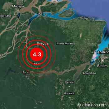 Tremor de terra é sentido em Breves, no Marajó - G1