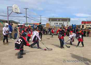 Kuujjuaq police host hockey tournament for kids - Nunatsiaq News