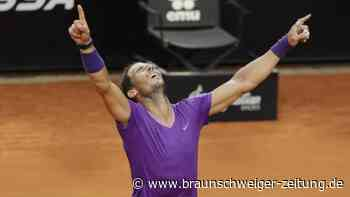 ATP-Turnier: Nadal gewinnt Masters in Rom - Sieg über Djokovic