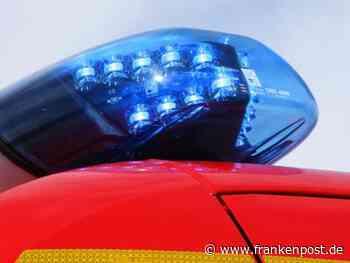 Schwer beschädigt - Transporter steht plötzlich in Flammen - Frankenpost