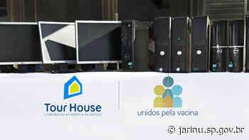 Unidos pela Vacina viabiliza doação de computadores para Prefeitura de Jarinu - Prefeitura Municipal de Jarinu