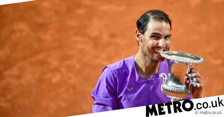 Rafael Nadal reacts after 'very good' Novak Djokovic win to clinch 10th Italian Open title