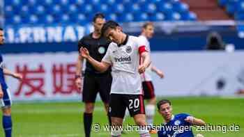 Nach Pleite auf Schalke: Einbruch auf der Zielgeraden: Frankfurt schiebt Frust