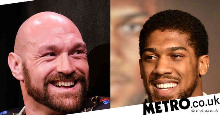 Tyson Fury announces Anthony Joshua fight is confirmed for August 14
