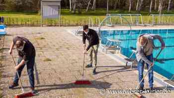 Wie das Freibad in Twistringen den Sommer plant - WESER-KURIER - WESER-KURIER