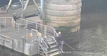 Police search of River Clyde continues after reports of man entering water - Glasgow Live