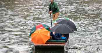 Rainy May one of the wettest ever after last year's scorching record breaker