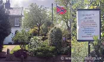 Police record 'hate-related public order offence' against couple for American Confederate Flag